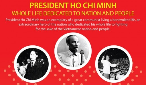 President Ho Chi Minh: Whole life dedicated to nation and people
