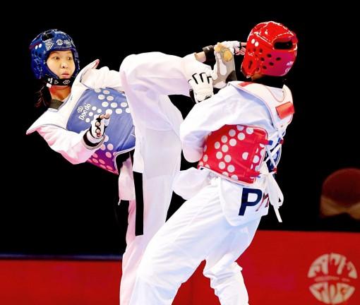 """Nữ võ sĩ """"vàng"""" của Taekwondo Vĩnh Long"""