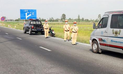 Đảm bảo an toàn giao thông  trên cao tốc Lộ Tẻ - Rạch Sỏi