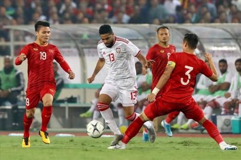 """""""Chung kết"""" bảng G  với UAE, thầy Park không chỉ đạo trên sân"""