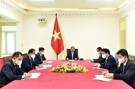 Việt Nam và Pháp nhất trí hỗ trợ cung cấp vaccine phòng COVID-19