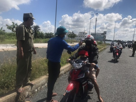 Nam tài xế đi từ  tỉnh Tiền Giang về quận Ô Môn âm tính với SARS-CoV-2