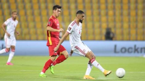 Thua UAE, Việt Nam vẫn vào vòng loại thứ ba World Cup