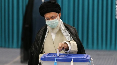 Cử tri Iran đi bầu tổng thống
