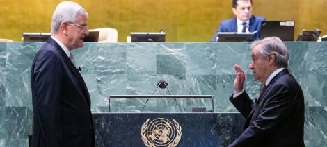 Ông Antonio Guterres bắt đầu nhiệm kỳ 2