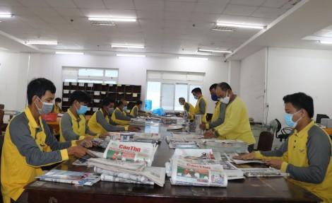 Bưu điện TP Cần Thơ nâng chất công tác phát hành báo chí