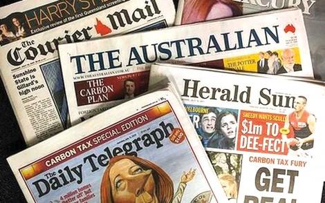Độc giả báo in ở Úc giảm một nửa kể từ năm 2016