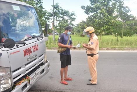 Xử lý nghiêm các trường hợp vi phạm trật tự an toàn giao thông