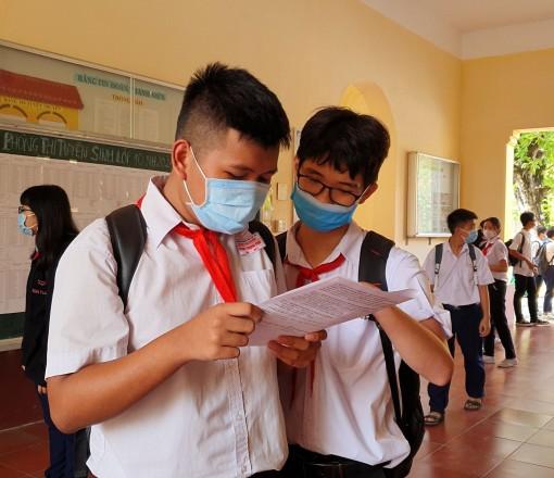 17 giờ ngày 29-6, Cần Thơ công bố kết quả phúc khảo tuyển sinh lớp 10 THPT năm học 2021-2022