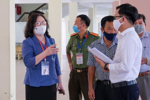 Bộ Giáo dục và Đào tạo kiểm tra công tác chuẩn bị thi tốt nghiệp THPT 2021 tại Cần Thơ