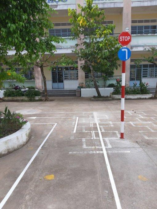 """Mô hình""""Công viên giao thông"""" dành cho học sinh tiểu học"""