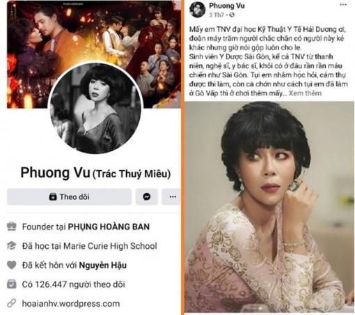 MC Trác Thuý Miêu bị phạt 7,5 triệu vì phát ngôn gây kích động