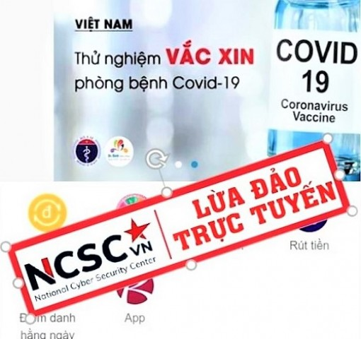 Cảnh báo nhiều thủ đoạn lợi dụng dịch COVID-19 để lừa đảo trên không gian mạng