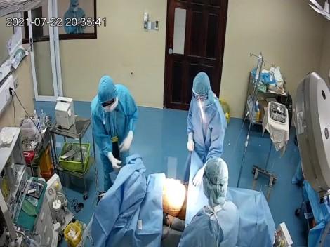 Mổ cấp cứu thành công cho bệnh nhân COVID-19 thủng dạ dày