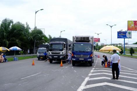 Cần Thơ không kiểm tra giấy xét nghiệm SARS-CoV-2 của lái xe từ các tỉnh, thành khu vực phía Nam khi vào thành phố