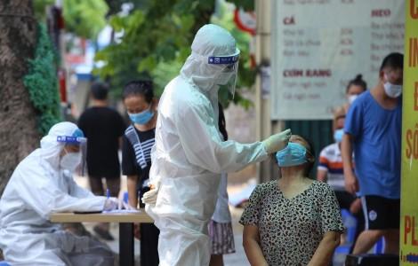 Việt Nam ghi nhận 2.708 ca mắc mới, trong đó 504 ca trong cộng đồng