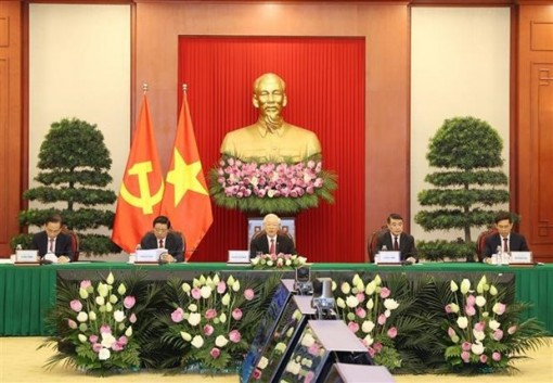 Party chief's speech at CPC and World Political Parties Summit