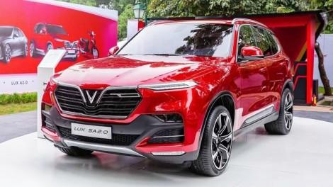 Review xe Vinfast Lux SA2.0 Turbo mới nhất 2021