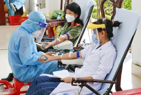 Công an thành phố Cần Thơ tổ chức chương trình hiến máu tình nguyện