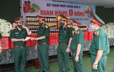 Lực lượng vũ trang Quân khu 9 tham gia phòng, chống dịch COVID-19
