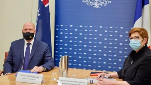 Australia, France oppose actions increasing tensions in East Sea