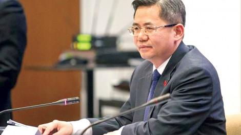 Anh ngăn đại sứ Trung Quốc tới Quốc hội