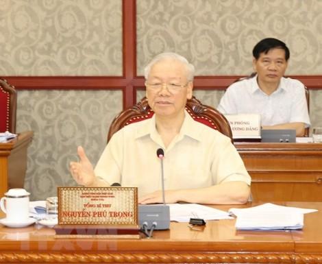 Bộ Chính trị cho ý kiến về tình hình thực hiện kinh tế-xã hội 2021
