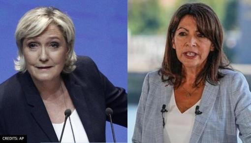 """Hai """"bóng hồng"""" tranh ghế tổng thống Pháp"""