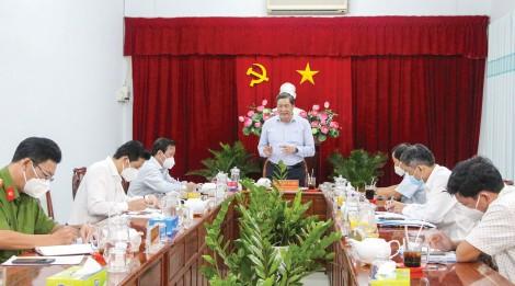 Quận Ninh Kiều tập trung chống dịch, phát triển kinh tế và đảm bảo an sinh xã hội