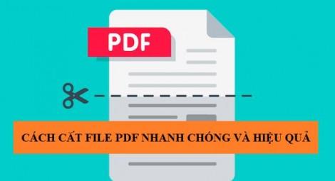 No1Converter - công cụ cắt file pdf nhanh chóng, miễn phí
