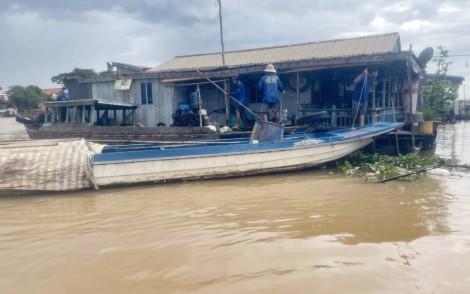 An Giang: Di dời 73 nhà nổi trên sông để phòng, chống dịch COVID-19