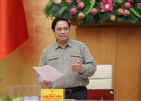 Thủ tướng Phạm Minh Chính: Nghiên cứu giải pháp thích ứng, kiểm soát dịch hiệu quả