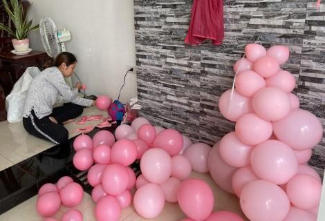 Đa dạng phụ kiện trang trí sinh nhật tại nhà