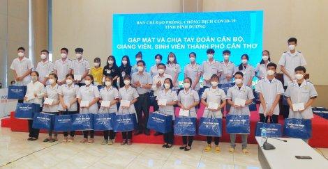Đoàn cán bộ, giảng viên, sinh viên TP Cần Thơ hoàn thành công tác hỗ trợ Bình Dương chống dịch