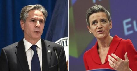 Mỹ - EU bắt tay đối phó Trung Quốc