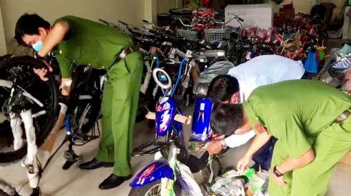 An Giang: Tạm giữ nhiều xe đạp, xe đạp điện nhãn mác nước ngoài không rõ nguồn gốc