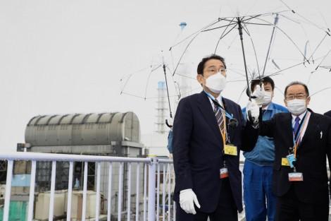 Thủ tướng Nhật thị sát nhà máy điện hạt nhân Fukushima