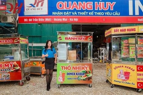 Công ty Quang Huy Plaza chuyên cung cấp xe bánh mì Thổ Nhĩ Kỳ