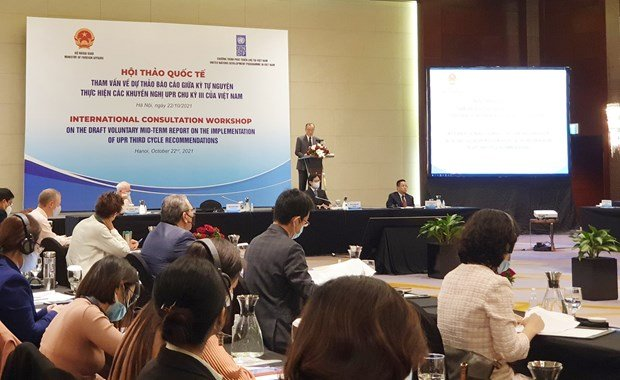 Vietnam shows excellent progress in ensuring socio-economic rights: foreign officials