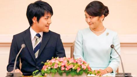 Công chúa Nhật kết hôn