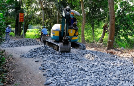 Tăng tốc xây dựng nông thôn mới nâng cao