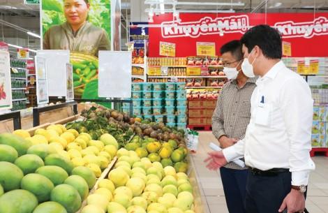 Khơi thông để nông sản đến siêu thị