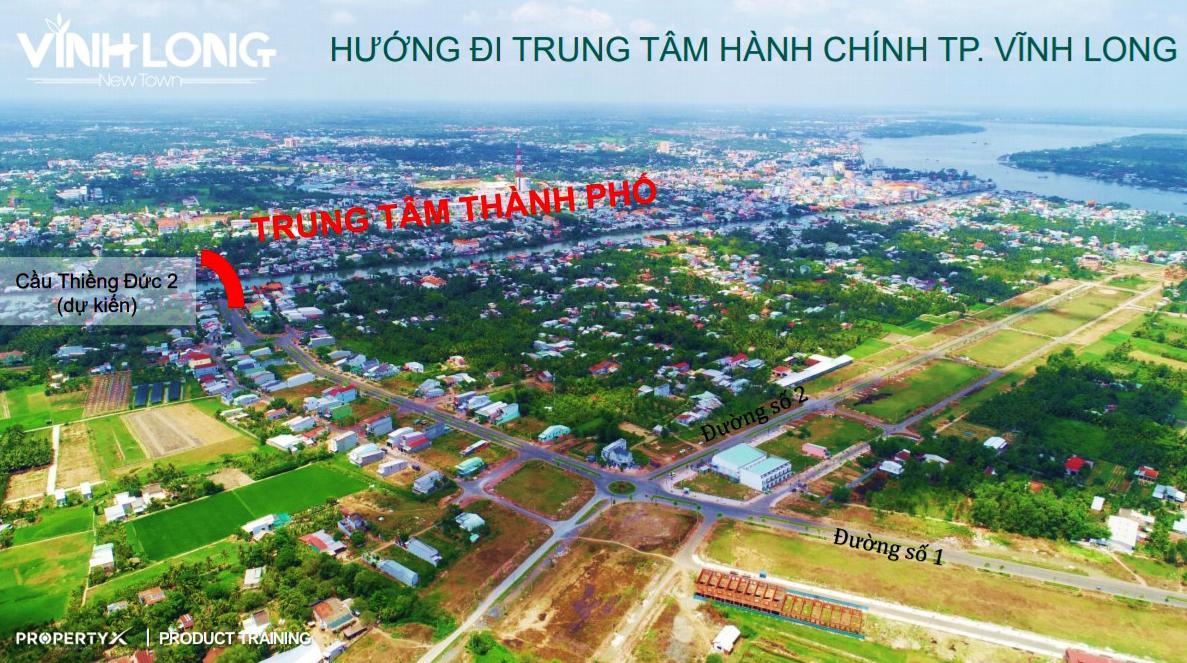 Hưng Thịnh mở bán 50 lô đất nền TP Vĩnh Long