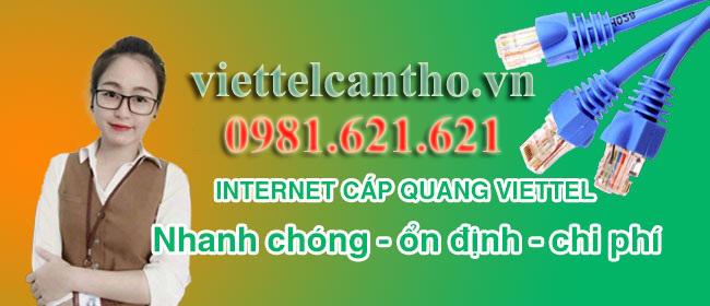 Cáp Quang Viettel, Truyền Hình Viettel Cần Thơ Khuyến Mãi HOT