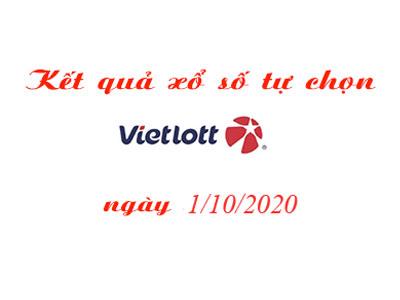 Kết quả xổ số tự chọn Vietlott