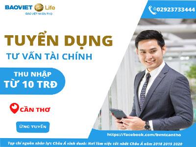 Bảo Việt Nhân thọ tuyển dụng tư vấn tài chính