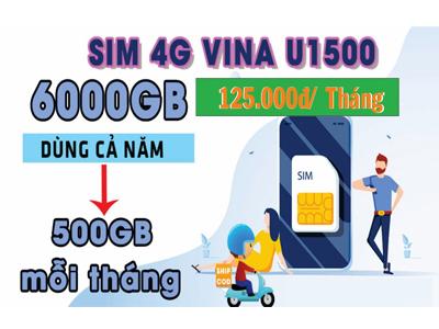 VNPT Cần Thơ Khuyến Mãi 2021: Sim Vina 500Gb 4g/ tháng chỉ 125.000đ. Lắp đặt Cáp Quang Giá Siêu Rẻ